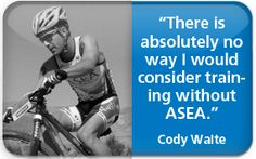 ASEA for Athletes. Try it here and join my worldwide working Asea team: www.klattschou.teamasea.com