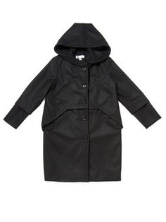 F14 Awesome Coat / Black Wool | IGWT NYC