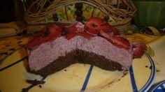 csoki-eper torta