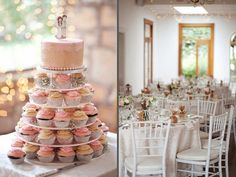 Pink and Ivory Vintage Wedding