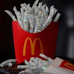 glitter, McDonalds, and silver image Boujee Aesthetic, Bad Girl Aesthetic, Aesthetic Collage, Aesthetic Pictures, Aesthetic Backgrounds, Aesthetic Iphone Wallpaper, Aesthetic Wallpapers, Photowall Ideas, Glitter Photography