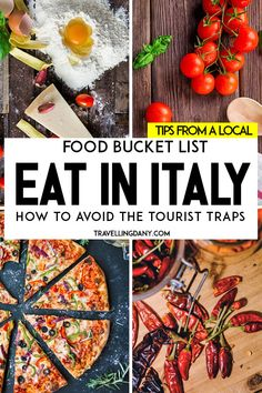 A foodie guide to learn what to eat in Italy: the best traditional dishes in eve. A foodie guide to learn what to eat in Italy: the best traditional. Famous Italian Dishes, Italian Recipes, Famous Italian Restaurants, Italian Foods, Italian Cooking, Italy Travel Tips, Travel Destinations, Tourist Trap, Tourist Sites