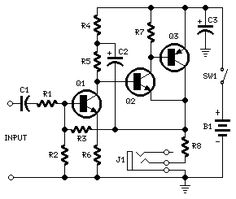 10 W Audio Amplifier with Germanium Transistors