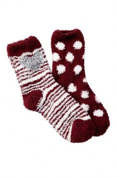 d96d67777f8cc2 Nordstrom Rack Butter Fuzzy Socks - Pack of 2 ( 4.78) ❤ liked on ...