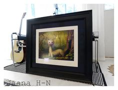https://flic.kr/p/GBPHtZ | Mark Ryden Yoshi - The Forest Spirit |                         I had this treasure professionally framed recently. This is a signed and numbered limited edition lithographic print no 281/1000 from Mark Ryden.   I saw this on Moby's wall and ever since tried to find one for a reasonable price. Finally, I got lucky!!