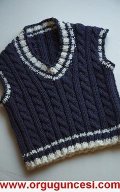 free knitting pattern: boys baby clothes models free knitting pattern: boys baby clothes models Always wanted to figure out how to knit, however unclear where do you st. Baby Knitting Patterns, Knitting Designs, Baby Patterns, Knitting Ideas, Crochet For Boys, Knitting For Kids, Free Knitting, Cardigan Bebe, Pull Bebe