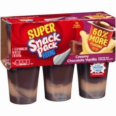 New #Coupon ~ Save $0.50/1 Super Snack Pack Pudding