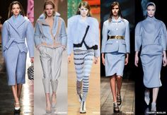 Powder Blue - Colour Forecast Fall/Winter 2014/2015 - Runway Women's Fashion Photo: Trend Council DORLY DESIGNS: Our Top Runway Fashion Colours F/W 2014/2015 Part IV