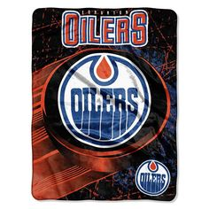 Edmonton Oilers NHL Micro Raschel Blanket (46in x 60in)