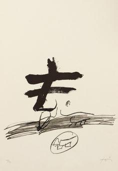 ANTONI TÀPIES (Barcelona, 1923-2012). litografía