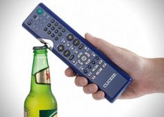Clicker TV Remote Bottle Opener