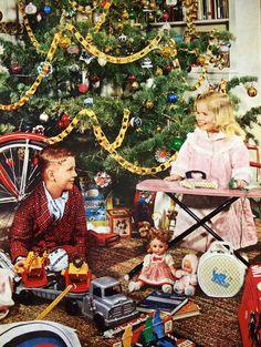1959 Christmas morning