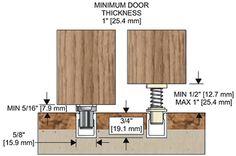 Sliding Door: Sliding Doors Floor Guides