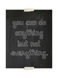 chalkboard art print  inspirational quote by exlibrispaperdesigns, $12.00