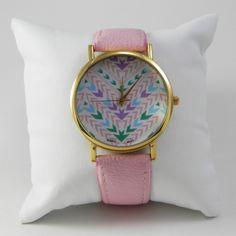 Reloj Étnico Rosa www.missbrumma.com