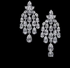 Harry Winston | The Incredibles | Behold The Incredibles | Earrings | Waterfall Chandeliers