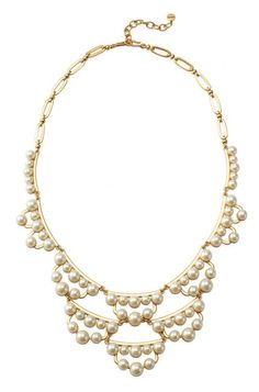 If you're seeking the ideal bib necklace, look no further than our pearl statement necklace. Find a chunky pearl necklace & statement jewelry at Stella & Dot.