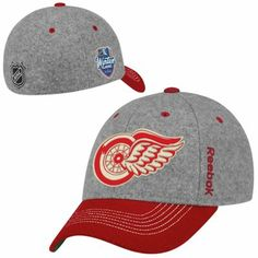 timeless design a19f1 c04f9 Reebok Detroit Red Wings 2014 Winter Classic Player Structured Flex Hat -  Nhl Winter Classic,