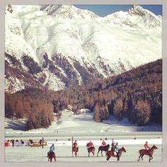 Polo game, St.Moritz,Swiss