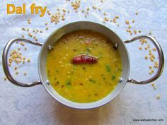 AISHU KITCHEN: Dal fry/ Restaurant style dal fry recipe
