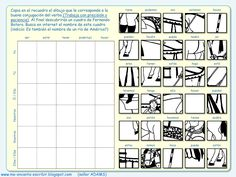 Me encanta escribir en español: Dibujo conjugando: un cuadro de Fernando Botero (juego de conjugación - verbos irregulares)