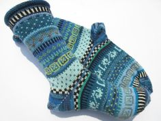 Items similar to Socks Søren Gr. 40 / 41 on Etsy Lots Of Socks, My Socks, Knitted Christmas Stockings, Christmas Knitting, Will Turner, Outfit Des Tages, Foot Warmers, Sea Colour, Sock Toys