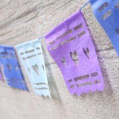 DIY Papel Picado Mexican Banner {Cinco de Mayo Celebrations}