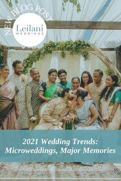 leilani weddings | 2021 wedding trends | blog post #2021weddingtrends #2021wedding Wedding Advice, Wedding Blog, Our Wedding, Dream Wedding, Asian Inspired Wedding, South Asian Wedding, Event Planning, Wedding Planning, Bridesmaid Dresses
