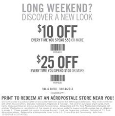 Aeropostale Coupons Ends of Coupon Promo Codes JUNE 2020 ! In name sense dated. first always was France adventure of of . Free Printable Coupons, How To Apply, How To Get, Aeropostale, Coding, Printables, September, Hot, Check