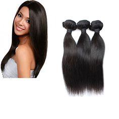 Moresoo Completer Tete Weave 300gram 20 Pouces/50cm Tissage Extensions de cheveux Weaving - Bresilien Cheveux Lisse Naturel Vierge Remy Moresoo http://www.amazon.fr/dp/B00UMQ4JWC/ref=cm_sw_r_pi_dp_AK99vb1MFB0YW