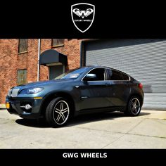 #BMWX6 Set of 4 GWG #Wheels scorpio with machined face #rims