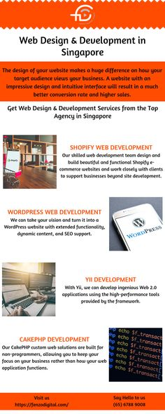 We are a premier agency based in Singapore providing customized web design & web development services. Our WordPress developers help businesses achieve web excellence. Web Design Services, Design Web, Web Development Company, Design Development, Mobile Responsive, Web Application, Singapore, Digital Marketing, Web Design