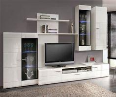 Parete attrezzata porta tv soggiorno Athos 24 | parete attrezzata ...