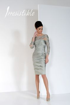 Fabulous Champagne Irresistible Mother of the Bride dress coming soon.