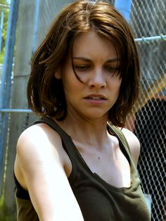 "Lauren Cohan: ""This next episode on Sunday is going to be mayhem. It's the craziest one for me so far this season. All the s**t hits the fan."""