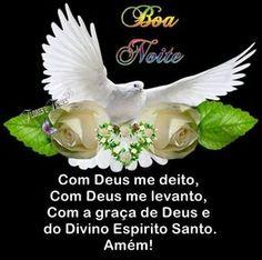 Boa noite,Com Deus me deito, com Deus me levanto, com a graça de Deus e do Divino Espírito Santo. Amém!