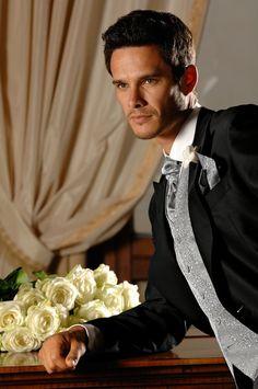 Esküvői mellény és francia nyakkendő