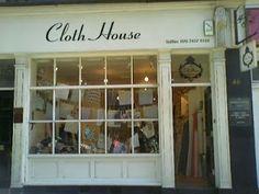 needles and lemons: London Brick and Mortar fabric and wool stores