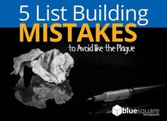 Email List Building Tips  The following infographic will show you 5 common mistakes to avoid in 2019 In 2019, Email List, Mistakes, Infographics, Learning, Building, Tips, Infographic, Studying