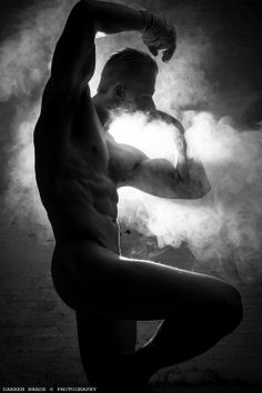 guntars plume by darren brade Smoke Art, Up In Smoke, Male Photography, White Photography, Silhouettes, Masculine Art, Bare Beauty, Man Images, Body Poses