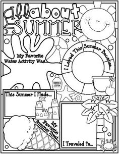 Kids love to tell all about themselves! Here is a great Back to School Ice Breaker to begin the year with. Print the posters as they are at their current size, or blow them up to a larger size. Let your students fill in the questions and decorate their poster to show all about what happened over Summer Break, When the posters are complete, let them share their fondest summer memories with their classmates.