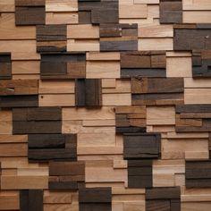 Natural Wood Modular Mix Oak 4 st. - Natural Wood wandbekleding - Woninginrichting