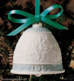 "This is one of a series of limited edition seasonal bells made for the Lladro Collectors Society. A most unique holiday or wedding gift   	 		 			 				 					Famous Words of Inspiration...""We are what we pretend to be, so we must be careful about what we pretend to... more details available at https://perfect-gifts.bestselleroutlets.com/gifts-for-holidays/home-kitchen/product-review-for-campanita-navidad-1992-christmas-bell/"