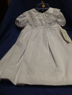 2c4af01fa5 New Christening Dress Easter Baby Blessing Gown 12 Months Baptism Allie  Wade