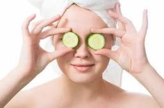 A thick slice of cucumber or tomato when rubbed on the face and left form 15 minutes serve as an effective facial cleanser.