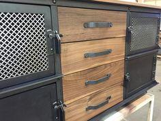 Ellis Console by Vintage Industrial Furniture