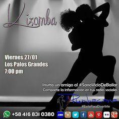 Aprende a Bailar #Kizomba en el #2017 Invita un amigo al #SanoVicioDeBailar #Taller #Workshop #Baile #Dance Whatsapp 58 416 831 0380 Inscripciones abiertas ya en www.rumbacana.com