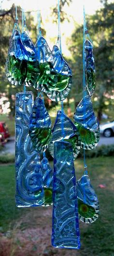 lovely wind chimes by Mystic Prism