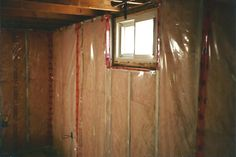 insulation and vapor barrier in metal framing