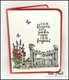 The Serene Stamper: Grace's Garden Card Umbrella Cards, Retirement Cards, Easel Cards, Birthday Cards For Men, The Draw, Stamping Up Cards, Cards For Friends, Pretty Cards, Flower Cards